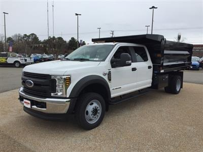 2019 F-550 Crew Cab DRW 4x4, Rugby Landscape Dump #NG79487 - photo 4
