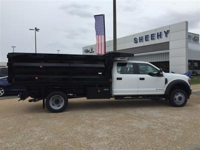 2019 F-550 Crew Cab DRW 4x4, Rugby Landscape Dump #NG79487 - photo 8