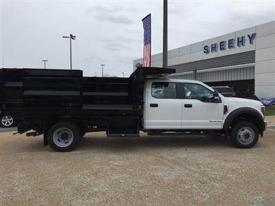 2019 F-550 Crew Cab DRW 4x4, Rugby Landscape Dump #NG79487 - photo 9