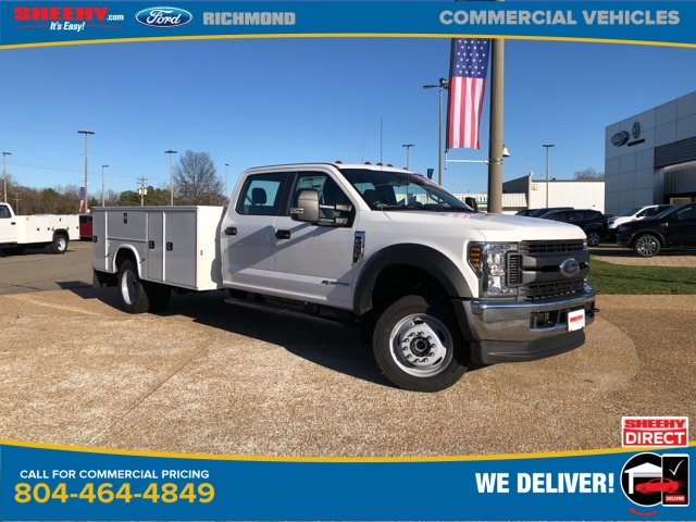 2019 Ford F-550 Crew Cab DRW 4x4, Knapheide Steel Service Body #NG79489 - photo 1