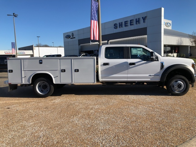 2019 Ford F-550 Crew Cab DRW 4x4, Knapheide Steel Service Body #NG79489 - photo 8