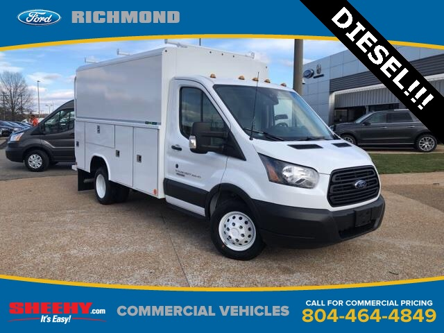 2019 Transit 350 HD DRW 4x2,  Reading Service Utility Van #NKA67068 - photo 1