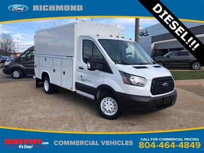 2019 Transit 350 HD DRW 4x2,  Reading Aluminum CSV Service Utility Van #NKA67068 - photo 1