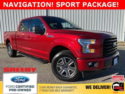 2017 Ford F-150 SuperCrew Cab 4x4, Pickup #NP9087 - photo 1