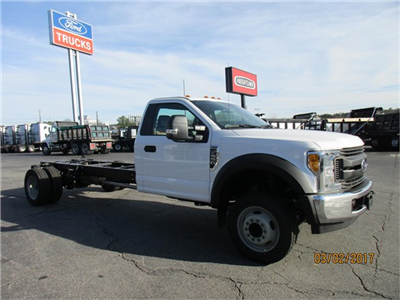 2017 F-550 Regular Cab DRW 4x2,  Cab Chassis #HEF06279 - photo 4