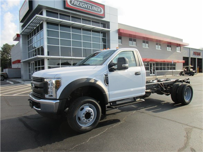 2018 F-550 Regular Cab DRW 4x2,  Cab Chassis #JEC16903 - photo 1