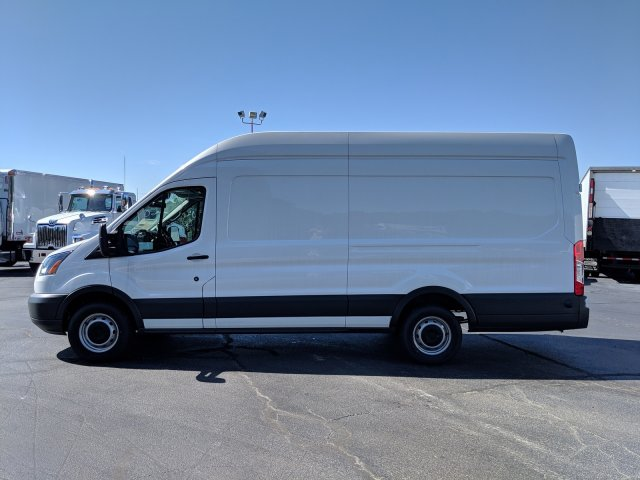 2018 Ford Transit 350 High Roof 4x2, Adrian Steel Base Shelving Upfitted Cargo Van #JKA94527 - photo 8