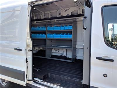 2018 Ford Transit 350 High Roof 4x2, Adrian Steel Base Shelving Upfitted Cargo Van #JKA94527 - photo 14