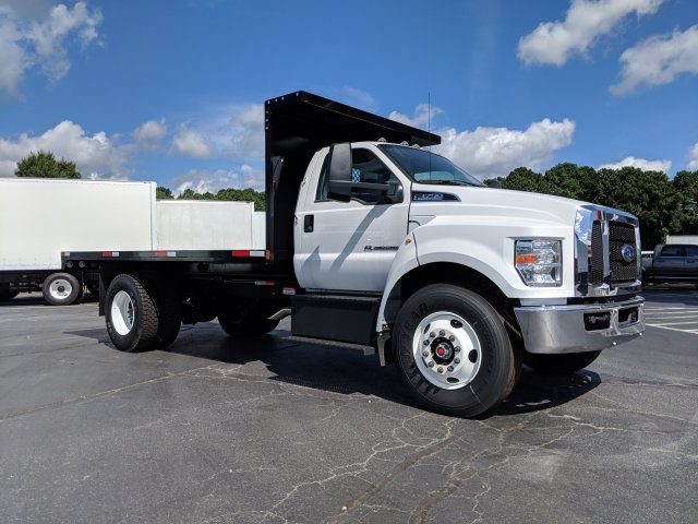 2019 F-750 Regular Cab DRW 4x2,  K & K Manufacturing Platform Body #KDF00089 - photo 1