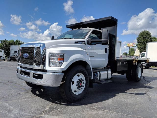 2019 F-750 Regular Cab DRW 4x2,  K & K Manufacturing Platform Body #KDF00089 - photo 8