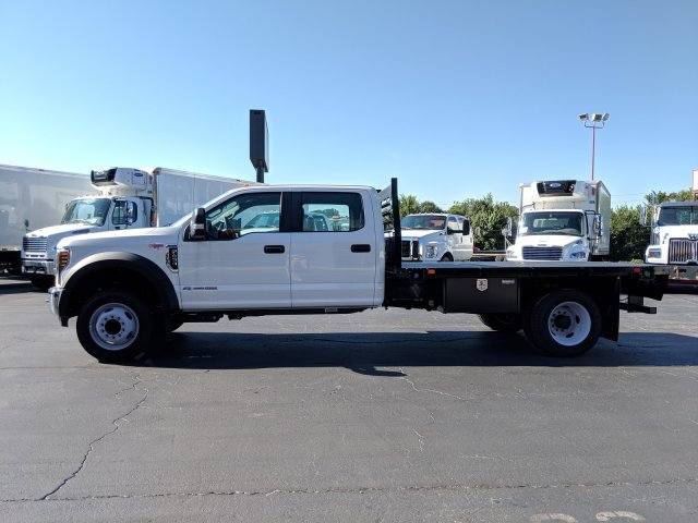 2019 F-450 Crew Cab DRW 4x2,  Commercial Truck & Van Equipment Gooseneck Platform Body #KEC11055 - photo 7