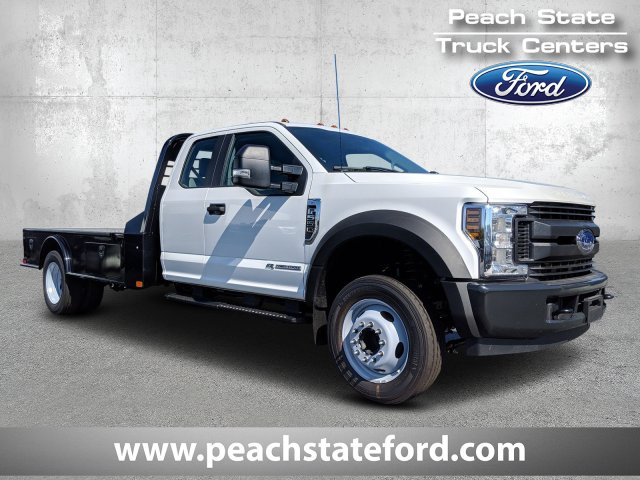 2019 F-550 Super Cab DRW 4x2, CM Truck Beds SK Model Platform Body #KEF23341 - photo 1