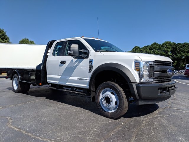 2019 F-550 Super Cab DRW 4x2, CM Truck Beds SK Model Platform Body #KEF23341 - photo 4