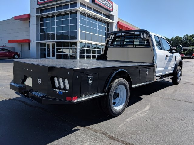 2019 F-550 Super Cab DRW 4x2, CM Truck Beds SK Model Platform Body #KEF23341 - photo 2