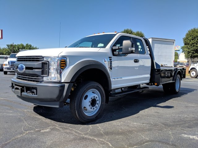2019 F-550 Super Cab DRW 4x2, CM Truck Beds SK Model Platform Body #KEF23341 - photo 9