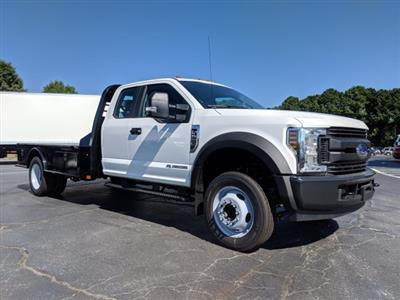 2019 F-550 Super Cab DRW 4x2, CM Truck Beds SK Model Platform Body #KEF23341 - photo 3