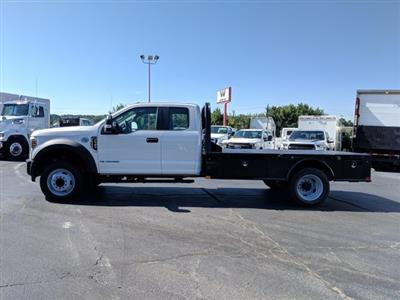 2019 F-550 Super Cab DRW 4x2, CM Truck Beds SK Model Platform Body #KEF23341 - photo 8
