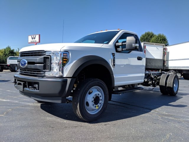 2019 F-550 Regular Cab DRW 4x2, Cab Chassis #KEF60314 - photo 9