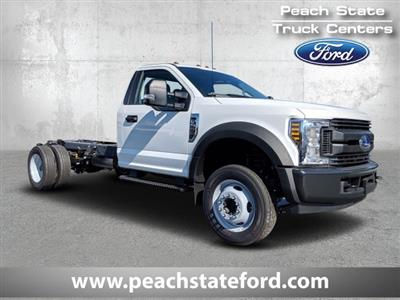 2019 F-550 Regular Cab DRW 4x2, Cab Chassis #KEF60314 - photo 1