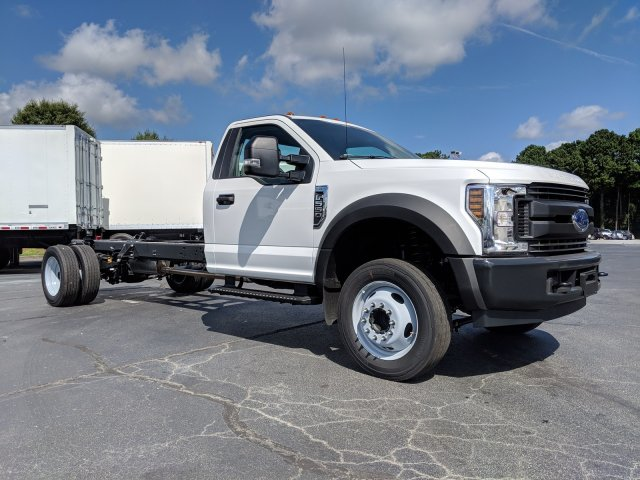 2019 F-550 Regular Cab DRW 4x2, Cab Chassis #KEF60315 - photo 4