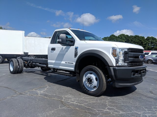2019 F-550 Regular Cab DRW 4x4,  Cab Chassis #KEF60318 - photo 4