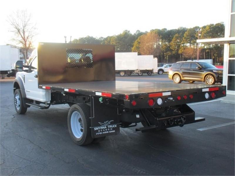 2019 Ford F-450 Regular Cab DRW 4x2, Smyrna Truck Platform Body #KEG06366 - photo 1