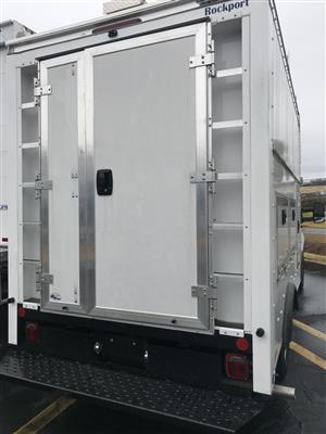 2019 Ford Transit 350 4x2, Rockport Workport Service Utility Van #KKA81541 - photo 2