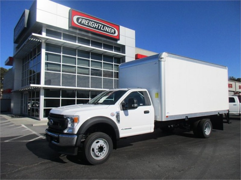 2020 Ford F-550 Regular Cab DRW 4x2, 16' dry freight boxF #LDA13916 - photo 1