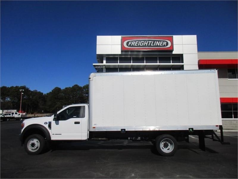 2020 Ford F-550 Regular Cab DRW 4x2, 16' dry freight boxF #LDA13916 - photo 3