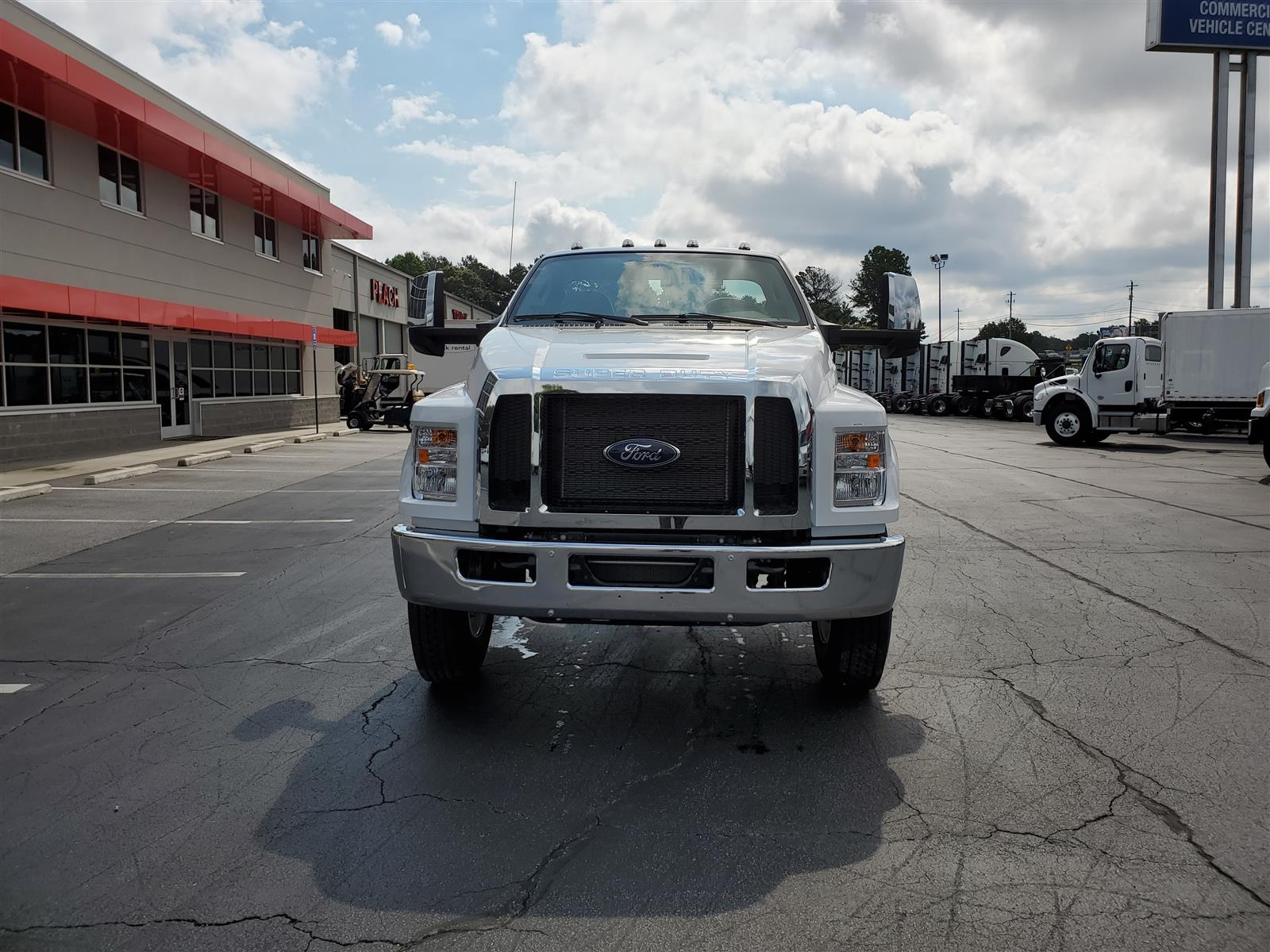 2021 Ford F-650 Regular Cab DRW 4x2, Cab Chassis #MDF02554 - photo 4