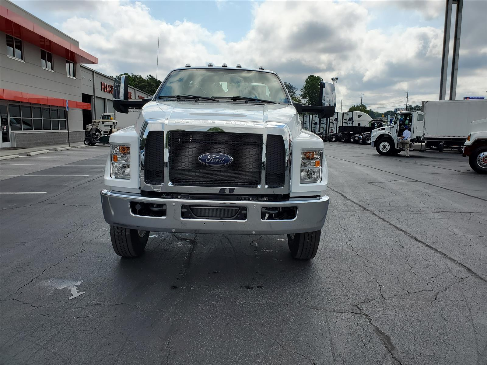 2021 Ford F-650 Regular Cab DRW 4x2, Cab Chassis #MDF02558 - photo 4