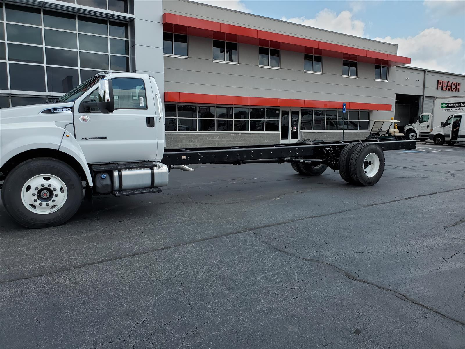 2021 Ford F-650 Regular Cab DRW 4x2, Cab Chassis #MDF02561 - photo 1