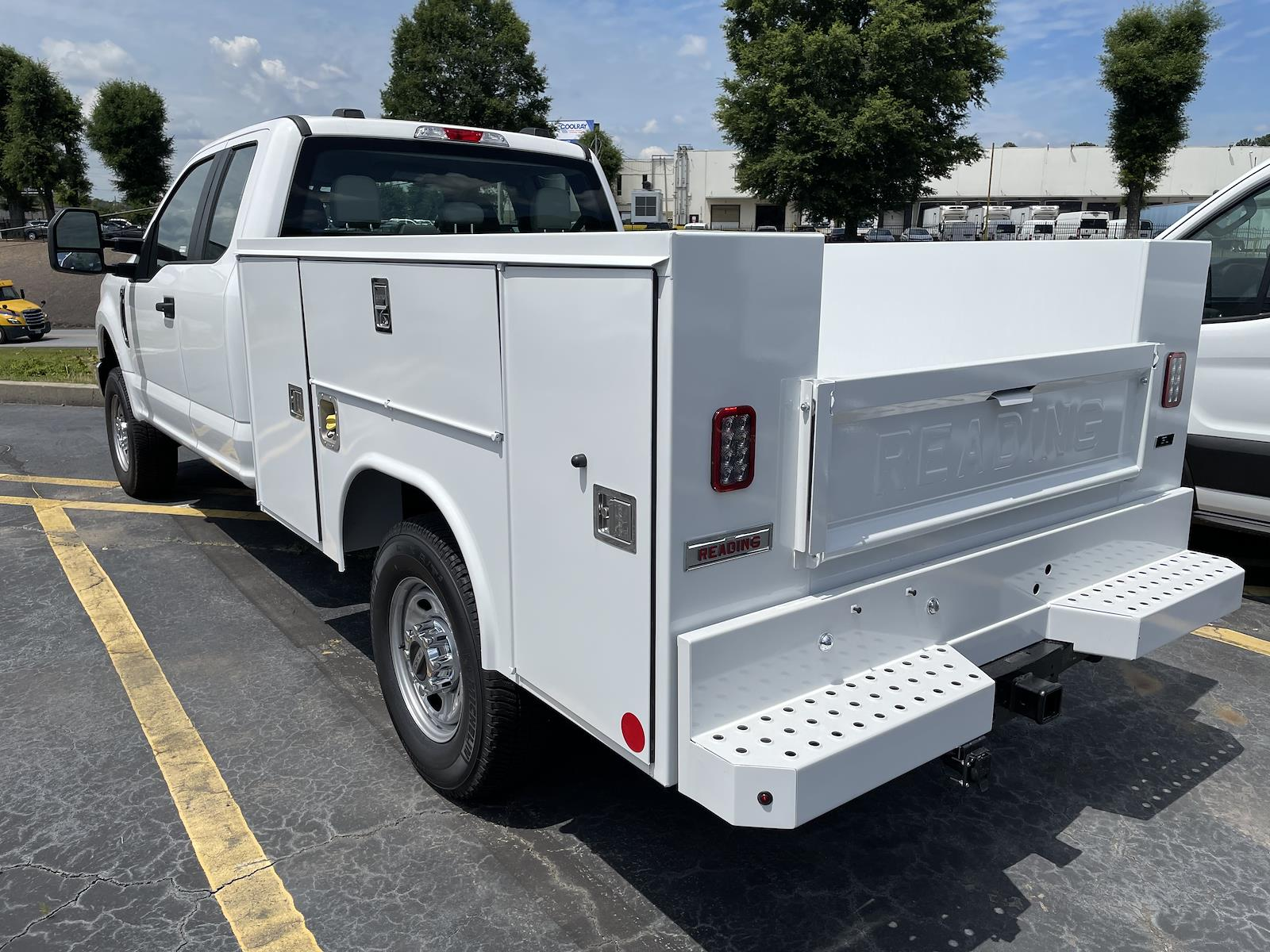 2021 Ford F-250 Super Cab 4x4, Reading Service Body #MED72952 - photo 1