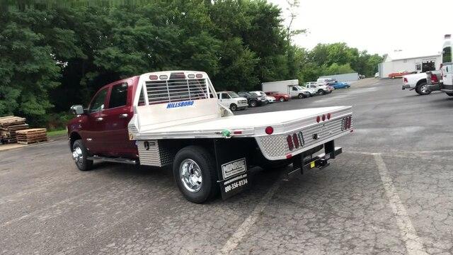 2019 Ram 3500 Crew Cab DRW 4x4,  Hillsboro 2000 Series Aluminum Platform Body #C19210 - photo 3