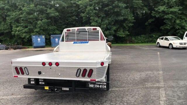 2019 Ram 3500 Crew Cab DRW 4x4,  Hillsboro 2000 Series Aluminum Platform Body #C19210 - photo 8