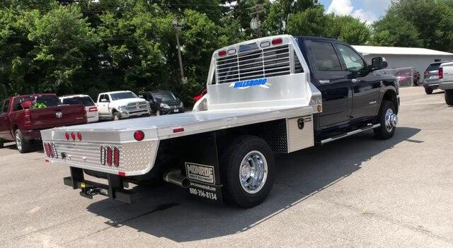 2019 Ram 3500 Crew Cab DRW 4x4,  Hillsboro 2000 Series Aluminum Platform Body #C19214 - photo 9