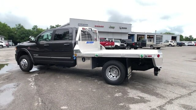2019 Ram 3500 Crew Cab DRW 4x4,  Hillsboro 2000 Series Aluminum Platform Body #C19244 - photo 8