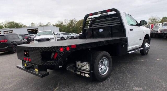 2019 Ram 3500 Regular Cab DRW 4x4, Freedom Rodeo Platform Body #C19480 - photo 8