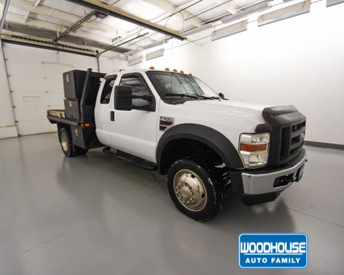 2009 F-550 Super Cab DRW 4x4,  Platform Body #D182833B - photo 4
