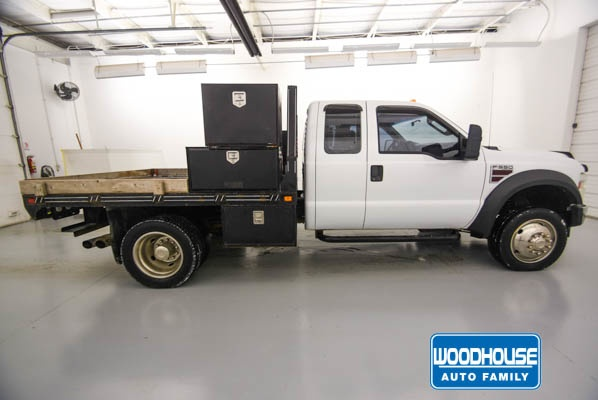 2009 F-550 Super Cab DRW 4x4,  Platform Body #D182833B - photo 5