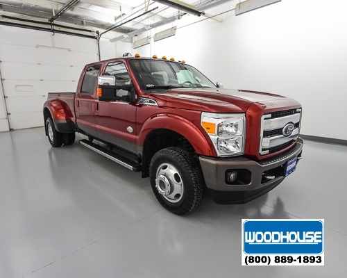 2015 F-350 Crew Cab DRW 4x4,  Pickup #T174366A - photo 4
