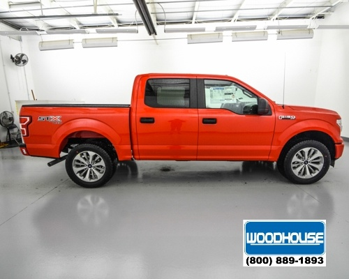 2018 F-150 Crew Cab 4x4, Pickup #T180251 - photo 4