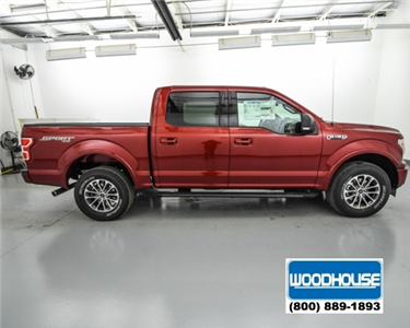 2018 F-150 SuperCrew Cab 4x4, Pickup #T180432 - photo 4