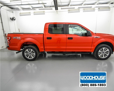 2018 F-150 SuperCrew Cab 4x4,  Pickup #T180482 - photo 4