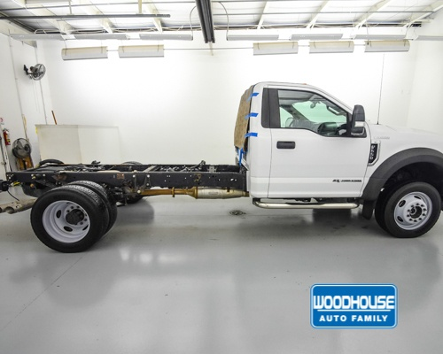 2017 F-550 Regular Cab DRW 4x4,  Cab Chassis #T180811A - photo 5