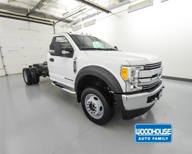 2017 F-550 Regular Cab DRW 4x4,  Cab Chassis #T180811A - photo 4