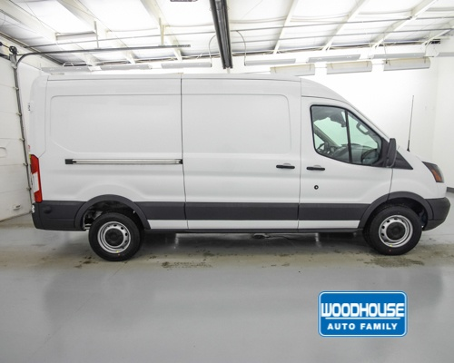 2018 Transit 250 Med Roof 4x2,  Empty Cargo Van #T181299 - photo 4