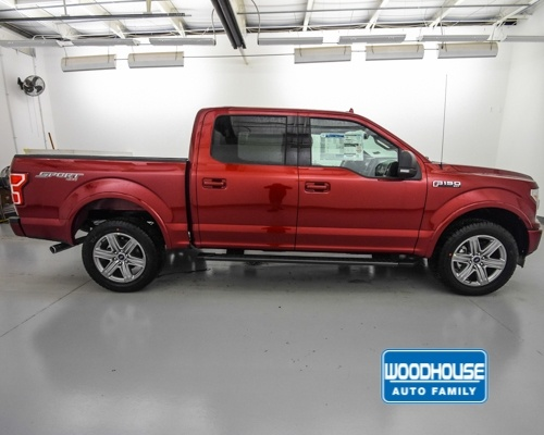 2018 F-150 SuperCrew Cab 4x4,  Pickup #T181977 - photo 4