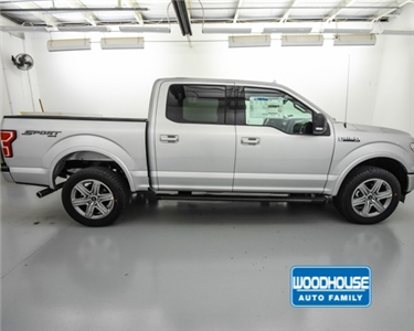 2018 F-150 SuperCrew Cab 4x4,  Pickup #T182553 - photo 4
