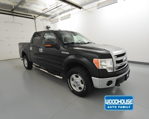 2014 F-150 SuperCrew Cab 4x4,  Pickup #T182622A - photo 4
